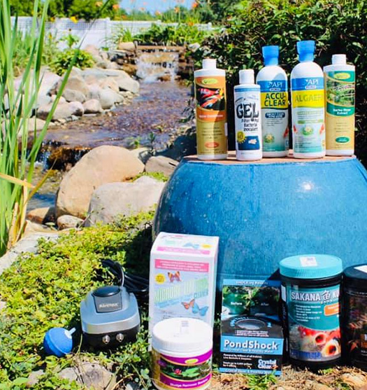 Chemical Water Treatments for Ponds: Milford, MI | Pond Place of Michigan - chemicals1